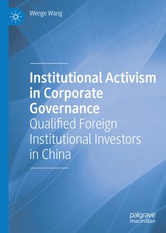 Institutional Activism in Corporate Governance (eBook, PDF) - Wang, Wenge