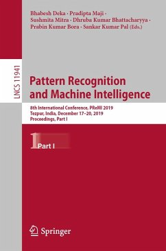 Pattern Recognition and Machine Intelligence (eBook, PDF)