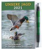Taschenkalender UNSERE JAGD 2021