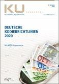 Deutsche Kodierrichtlinien mit MDK-Kommentierung 2020