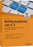 Richtig kontieren von A-Z - inkl. Arbeitshilfen online und CD-ROM