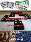 Alle Gesellschaftsspiele auf einem Blick Teil 1: (eBook, ePUB)