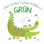 Mein erstes Farben-Fühlbuch - Grün (Mängelexemplar)
