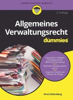 Allgemeines Verwaltungsrecht fur Dummies
