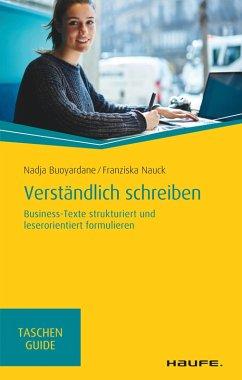 Verständlich schreiben (eBook, PDF) - Buoyardane, Nadja; Nauck, Franziska