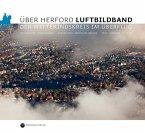 Über Herford. Luftbildband (Mängelexemplar)