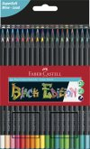 Faber-Castell Buntstifte Black Edition 36er Kartonetui