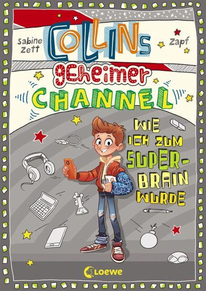 Buch-Reihe Collins geheimer Channel