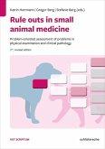 Rule outs in small animal medicine (eBook, PDF)