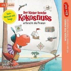 Der kleine Drache Kokosnuss erforscht die Piraten / Der kleine Drache Kokosnuss - Alles klar! Bd.4 (MP3-Download) - Siegner, Ingo