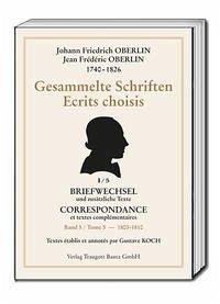 Gesammelte Schriften - Oberlin, Johann Friedrich