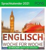PONS Sprachkalender 2021 ENGLISCH Woche für Woche