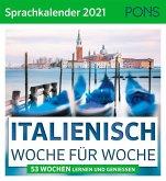 PONS Sprachkalender 2021 ITALIENISCH Woche für Woche