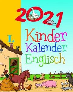 Langenscheidt Kinderkalender Englisch 2021, Abreißkalender