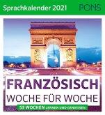 PONS Sprachkalender 2021 FRANZÖSISCH Woche für Woche