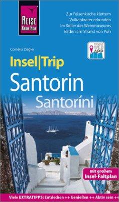 Reise Know-How InselTrip Santorin / Santoríni - Ziegler, Cornelia