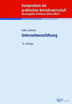 Unternehmensführung (eBook, PDF) - Rahn, Horst-Joachim; Mintert, Svenja-Maria