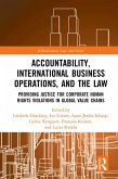 Accountability, International Business Operations and the Law (eBook, PDF)