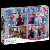 Frozen 2 - 4in1 Puzzle (Kinderpuzzle)