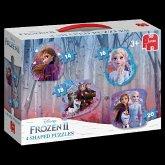 Frozen 2 - 4in1 Konturenpuzzle (Kinderpuzzle)