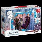 Frozen 2 - Puzzle & Colour (Kinderpuzzle)