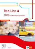 Red Line 4. Ausgabe Bayern. Workbook mit Audio-CD und Vokabelübungssoftware Klasse 8