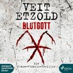 Blutgott / Clara Vidalis Bd.7 (2 MP3-CDs)