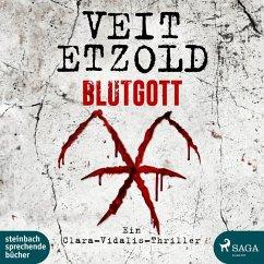 Blutgott / Clara Vidalis Bd.7 (2 MP3-CDs) - Etzold, Veit
