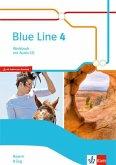 Blue Line 4 R-Zug. Ausgabe Bayern. Workbook mit Audio-CD Klasse 8