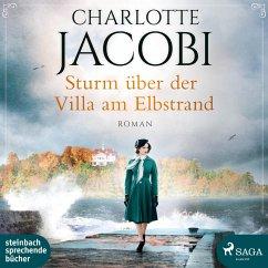 Sturm über der Villa am Elbstrand, 2 MP3-CD - Jacobi, Charlotte