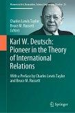 Karl W. Deutsch: Pioneer in the Theory of International Relations (eBook, PDF)