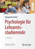 Psychologie für Lehramtsstudierende (eBook, PDF)