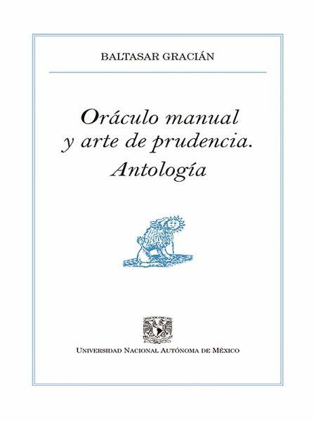 Oráculo Manual Y Arte De La Prudencia Ebook Epub Von Baltasar Gracián Portofrei Bei Bücher De