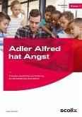 Adler Alfred hat Angst