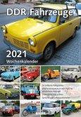 DDR Fahrzeuge 2021 Wochenkalender