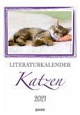 Literaturkalender Katze 2021 - Wochenkalender
