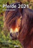 Pferde 2021 Wochenkalender