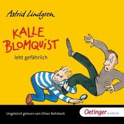 Kalle Blomquist lebt gefährlich (MP3-Download) - Lindgren, Astrid
