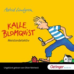 Kalle Blomquist Meisterdetektiv (MP3-Download) - Lindgren, Astrid