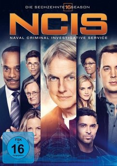 NCIS Staffel 16 - Mark Harmon,Sean Murray,Willmer Valderrama
