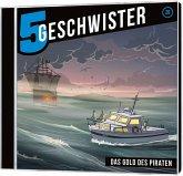 5 Geschwister - Das Gold des Piraten, 1 Audio-CD