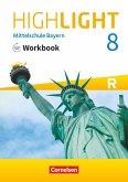 Highlight 8. Jahrgangsstufe - Mittelschule Bayern - Workbook mit Audios online