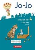 Jo-Jo Mathematik 4. Schuljahr - Allgemeine Ausgabe 2018 - Arbeitsheft Fördern