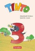 Tinto Sprachlesebuch 3. Schuljahr - Arbeitsheft Fördern - Sprache und Lesen