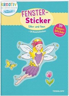 Fenster-Sticker Elfen und Feen (Mängelexemplar)