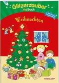 Glitzerzaubermalbuch. Weihnachten (Mängelexemplar)