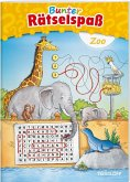 Bunter Rätselspaß Zoo ab 7 Jahren (Mängelexemplar)
