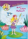 Meine Elfen-Welt. Rosarotes Malbuch (Mängelexemplar)