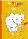 Mein buntes Glitzerzauber-Malbuch (Elefant) (Mängelexemplar)