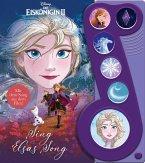 """Disney Die Eiskönigin 2 - Sing Elsas Song - Liederbuch zu """"Wo noch niemand war"""" -Interaktives Pappbilderbuch mit 6 Melodien für Kinder ab 3 Jahren"""